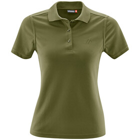 Maier Sports Ulrike Polo Femme, winter moss